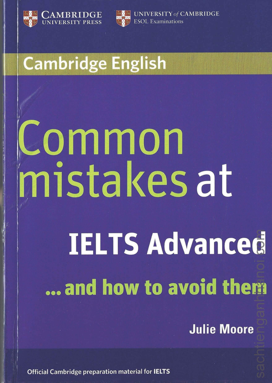 Giới thiệu về cuốn sách Common mistakes at IELTS Advanced